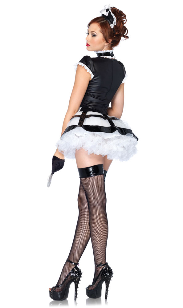 3-Piece Mistress Maid Costume