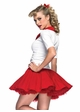 3-Piece Rydell High Cheerleader Grease Costume inset 1