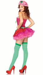 3-Piece Strawberry Sweetie Costume