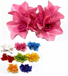 "3"" Triple Flower Hair Clips"