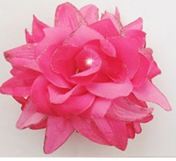 "4.5"" Flower Jaw Hairclip"