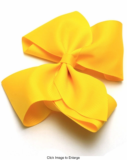 "4.5"" Ribbon Bow (available in 7 colors)"