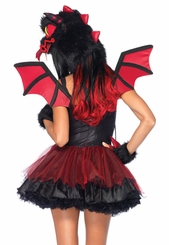 4-Piece Demon Dragon Costume
