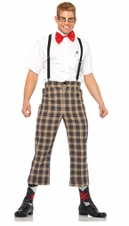 4-Piece Nerdy Ned Costume for Men for $38.00