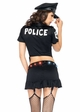 4-Piece Sergeant Sexy Light-Up Costume inset 1