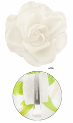"""4"""" Stunning Large Flower Hair Clip (Available in 18 colors)"""