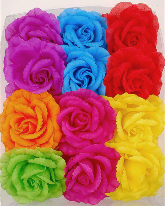 "5.15"" Large Rose Flower Hair Clip"