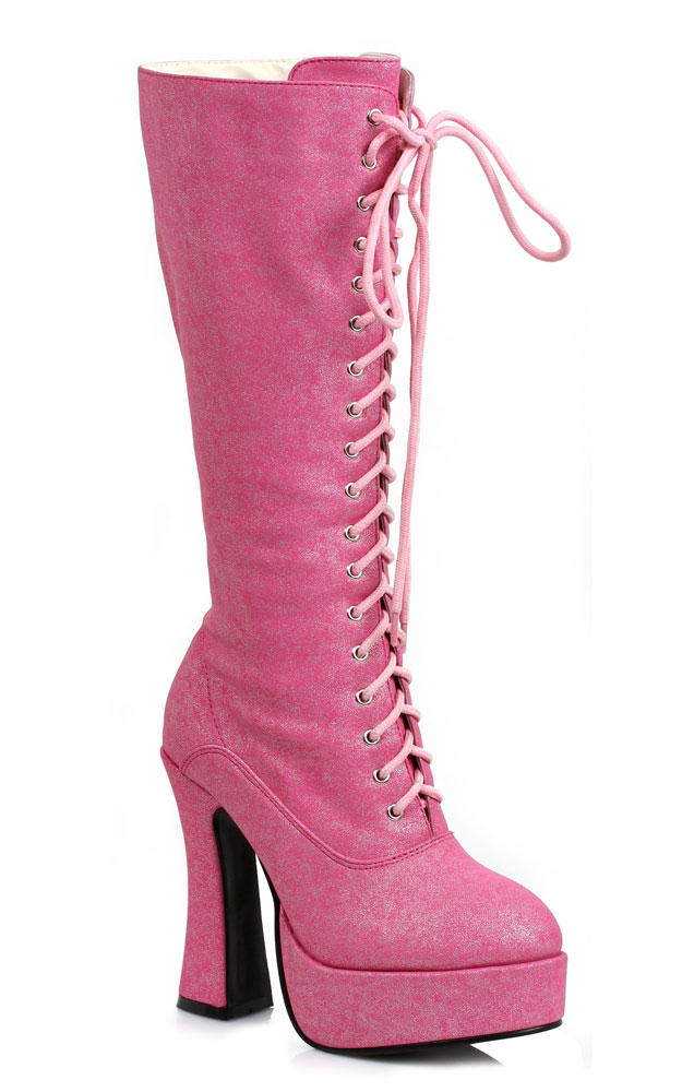 5 quot chunky heel knee high boots