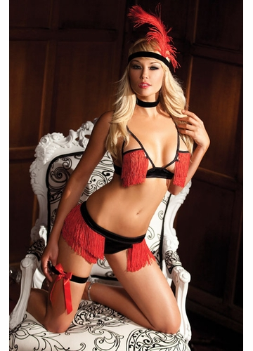 5-Piece Bedroom Burlesque Costume Set