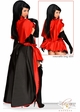 5-Piece Deluxe Red Riding Hood Corset Costume   inset 1