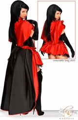 5-Piece Deluxe Red Riding Hood Corset Costume
