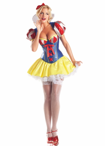 5-Piece Snow White Corset Costume