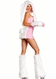 6-Piece Faux Fur Bunny Costume inset 1