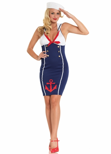 Ahoy Sailor Hottie Costume