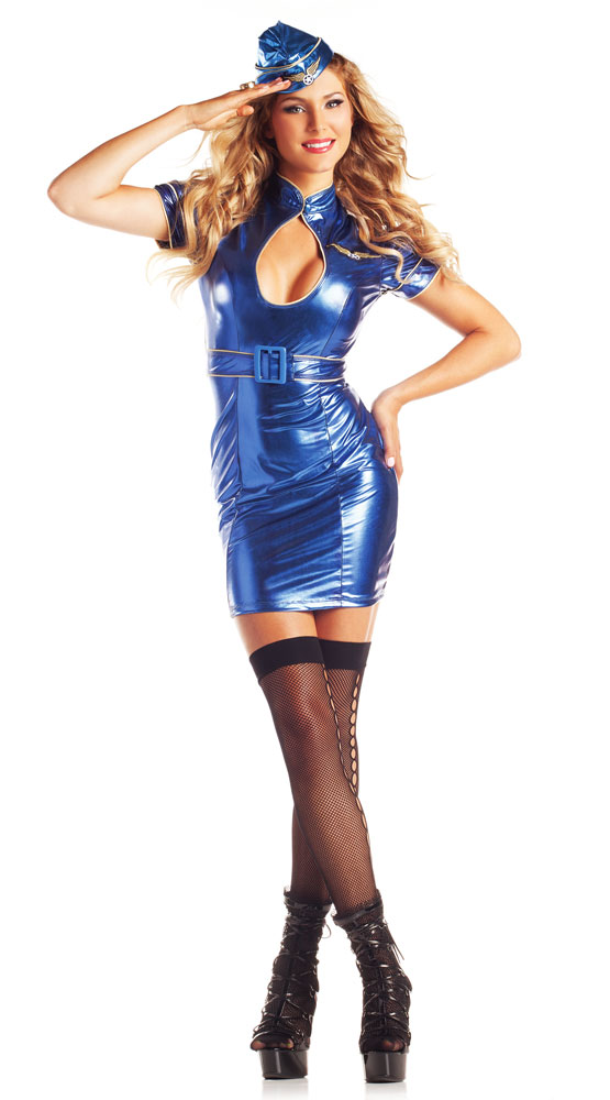 Air Hostess Stewardess Costume