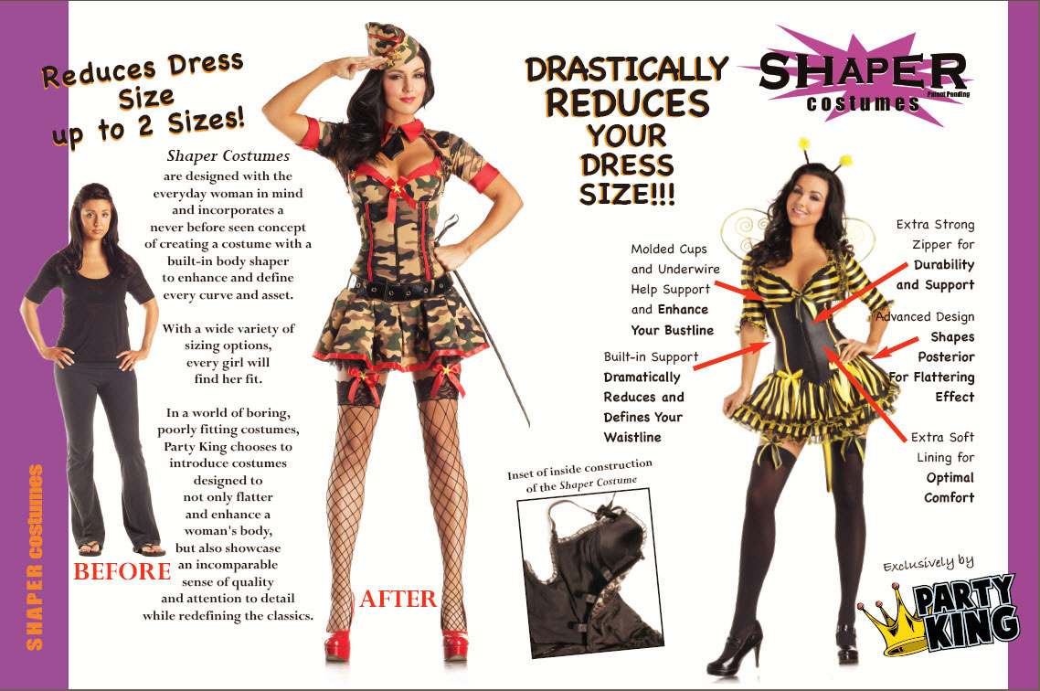 Amazing Shaper Costumes