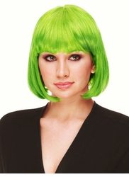 Apple Green Bob Wig Cindy