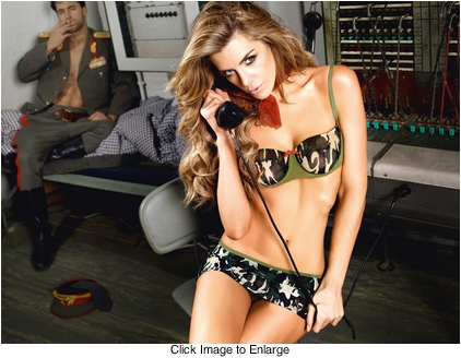 Army Babe Lingerie Costume