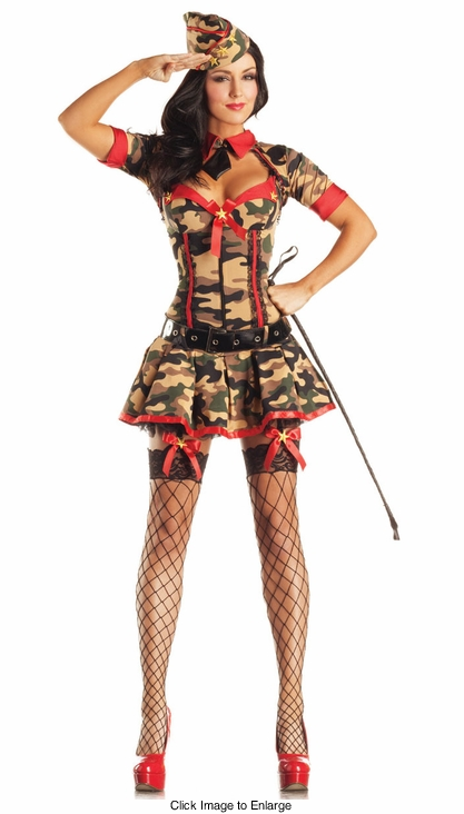 Army Brat Shaper Costume