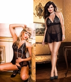 Babydoll and Lace G-string