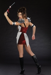 Battle Bound Beauty Costume