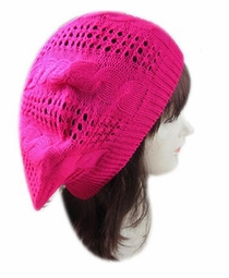 Beret Winter Hat in Bright Colors