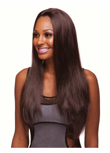 Best Selling Long Straight 3/4 Wig
