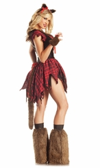Big Bad Were Wolf Babe Costume