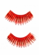Black and Red Metallic Fake Lashes inset 1