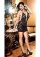 Black Rose Lace Dress with Open Back inset 2