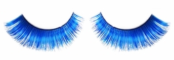 Blue False Eyelashes