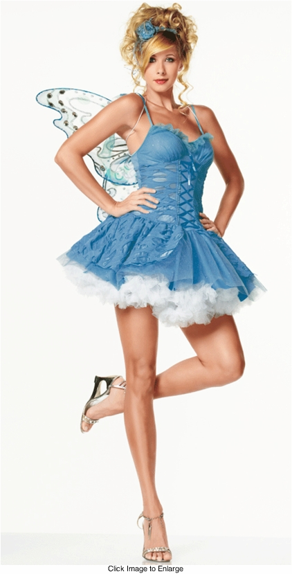 Blue Ice Pixie Costume from Leg Avenue