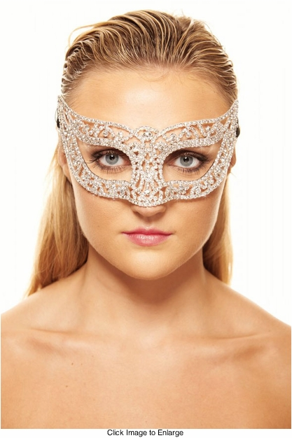 Brilliance Crystal Masquerade Mask