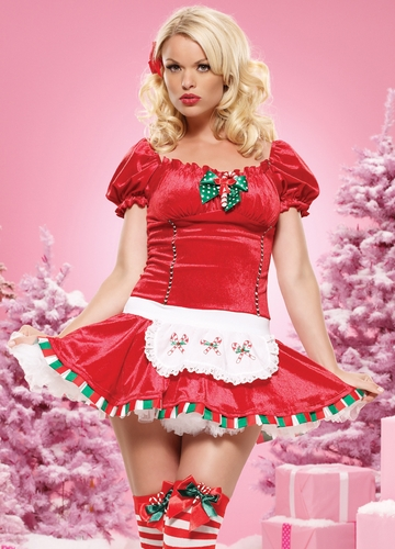Candy Cane Christmas Costume