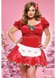 Candy Cane Christmas Costume inset 1