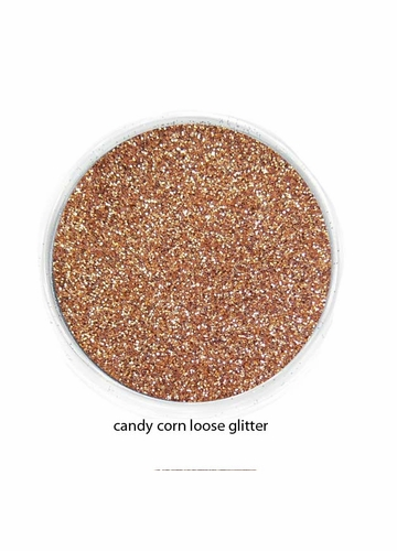 Candy Corn Color of Luxe Glitter Powder for Eyeliner and Eye Makeup