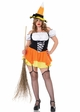 Candy Corn Sexy Witch Costume inset 1