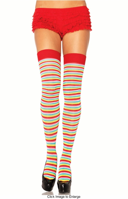 Candy Stripe Stockings