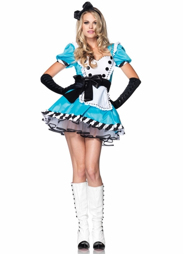 Charming Alice in Wonderland Halloween Costume