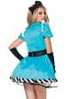 Charming Alice Costume with Dress and Headband inset 1