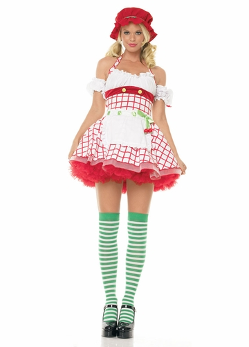 Cherry Cuddler Strawberry Shortcake Costume