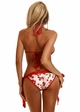 Cherry Pin-Up Pucker Back Bikini inset 1