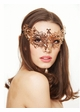 Chiara Masquerade Mask with Crystals inset 1