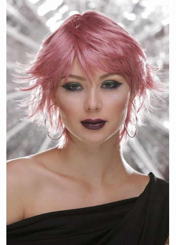 Choppy Wig in Pink Venom