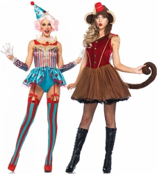 Circus, Burlesque and Showgirl Costumes