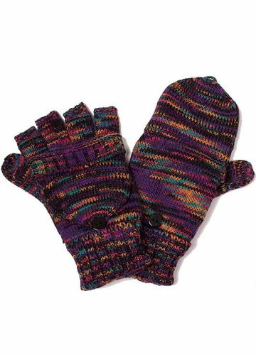 Convertible Gloves in Multi Color by CC Brand