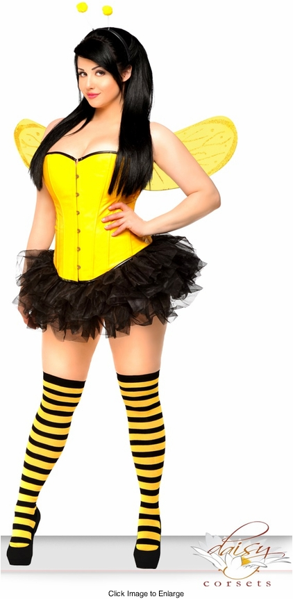 Corset Bumble Bee Costume