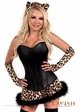 Corset Leopard Kitty Costume inset 1