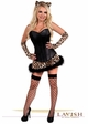 Corset Leopard Kitty Costume inset 3
