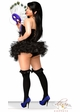 Corset Peacock Showgirl Costume with Mask and Skirt inset 2